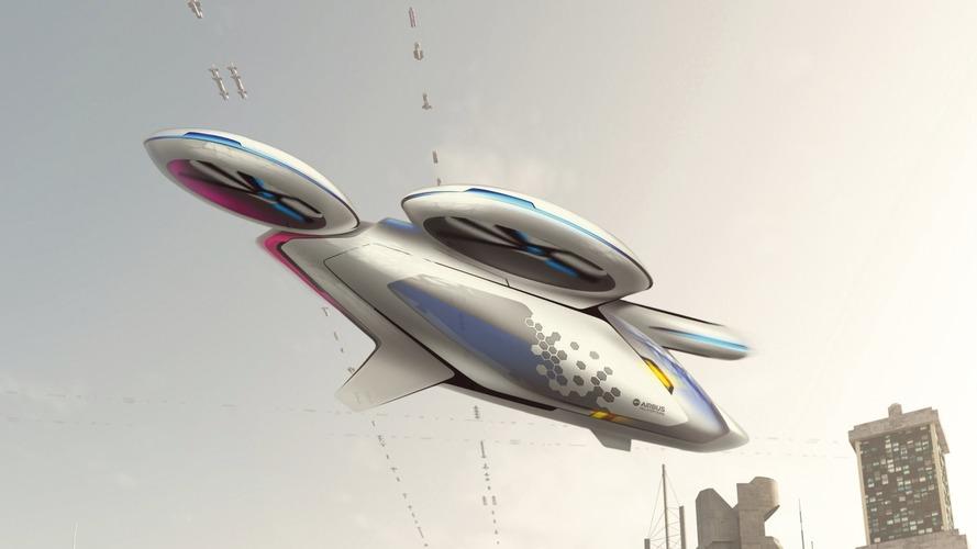 Airbus annonce les premiers tests de taxis volants en 2017