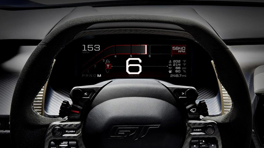 Ford GT Instrument Panel