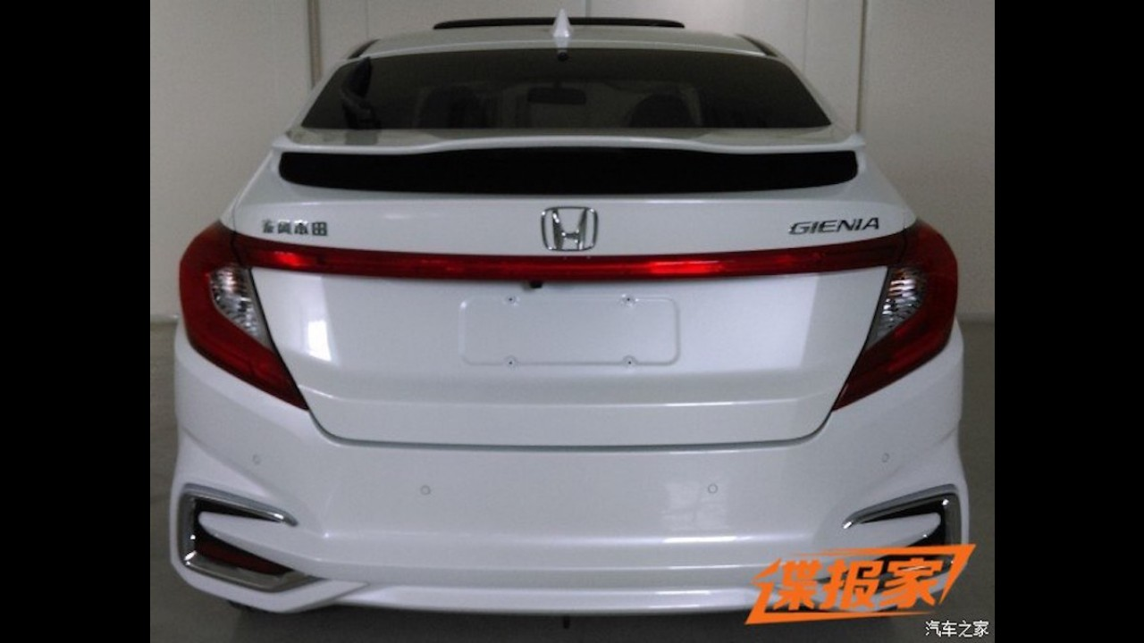 Flagra: Inédito Honda City hatch está pronto na China