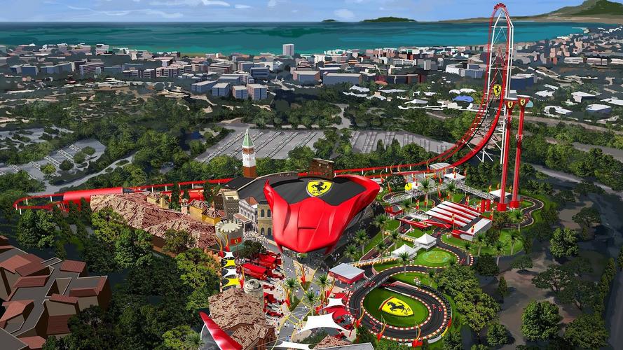 Parque temático Ferrari Land já tem ingressos à venda