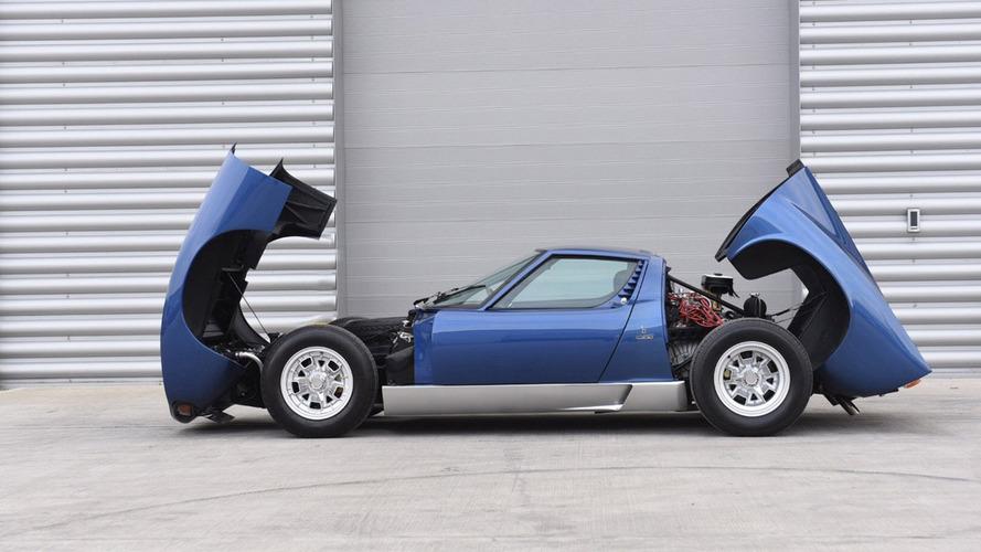 Rod Stewart'ın Lamborghini Miura'sı açık arttırmayla satılacak