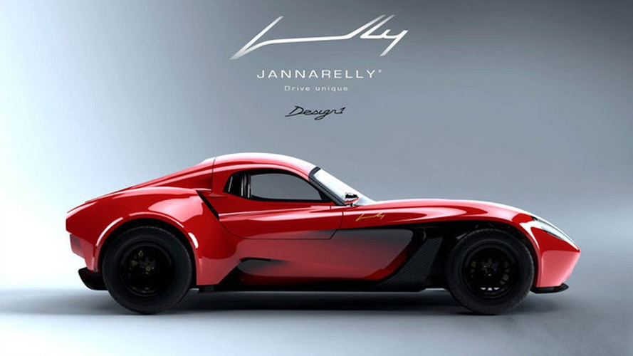 Jannarelly Design-1 ready for bad weather with carbon fiber hardtop