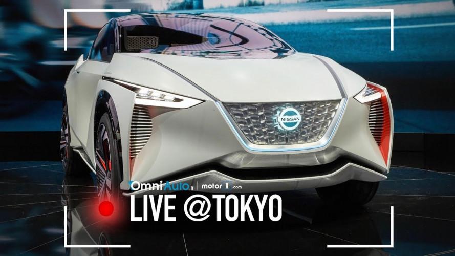 Nissan IMx concept, prove di crossover elettrico