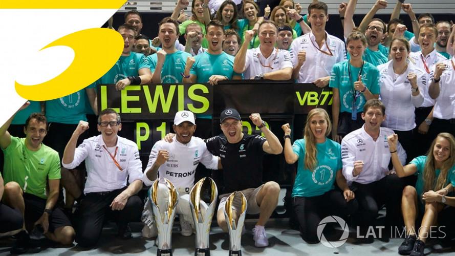 Hamilton allontana da sé il paragone con Schumacher