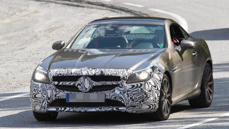 2016 Mercedes-Benz SLC 450 AMG Sport makes spy photo debut