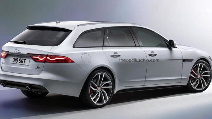 Jaguar XF Sportbrake renders show very probable design
