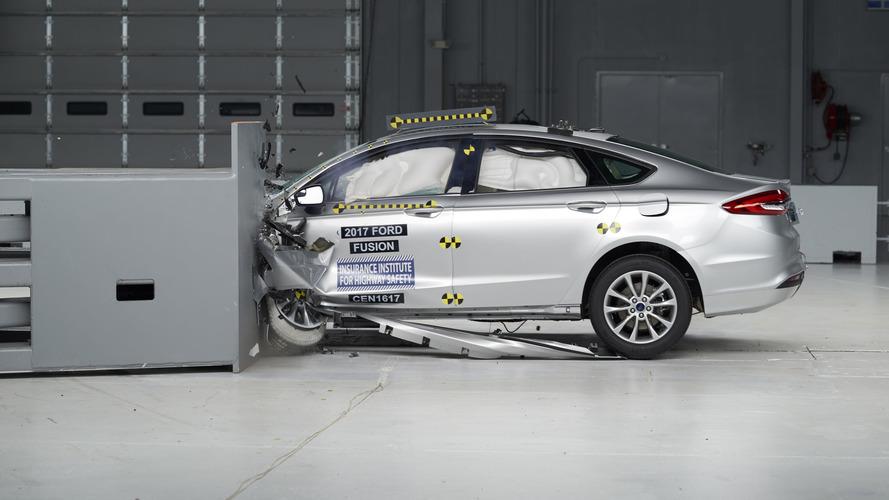 2017 Ford Fusion crashes its way to TSP+ award