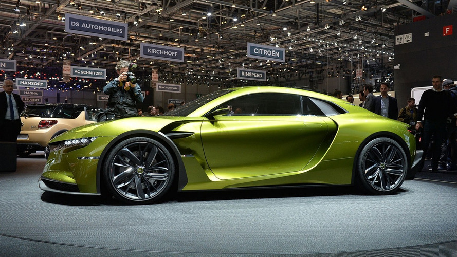 DS E-Tense trademark filing suggests the supercar is on its way