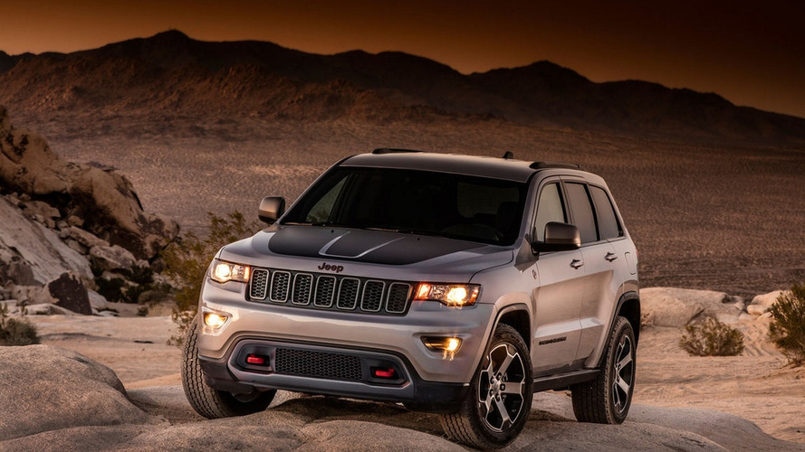 2017 Jeep Grand Cherokee Trailhawk leaked