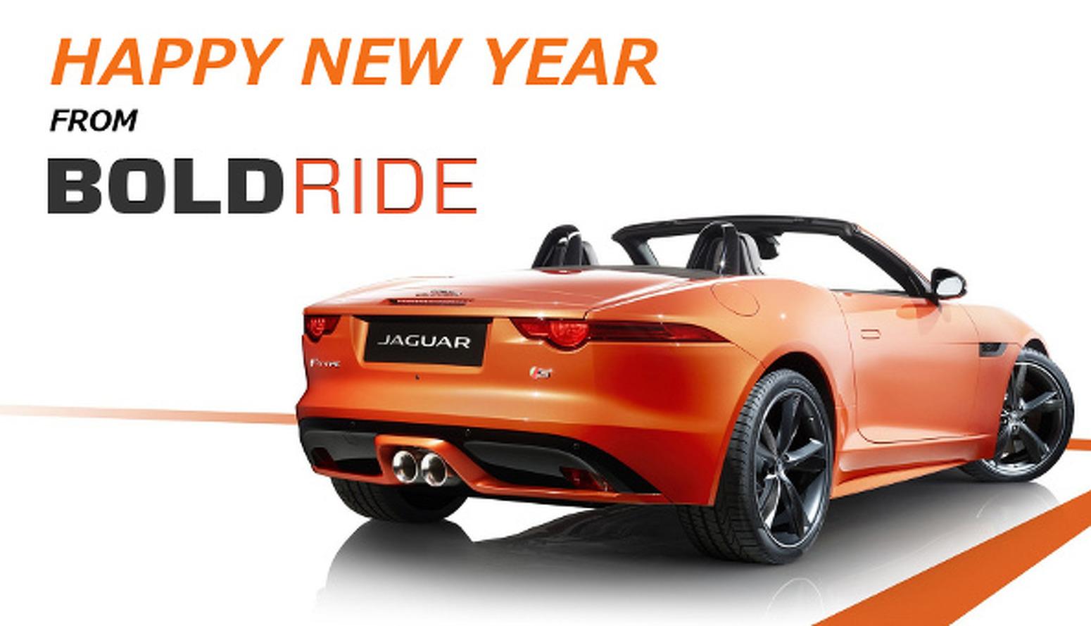Happy New Year from BoldRide!