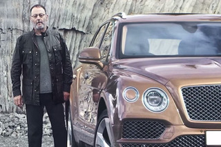 Actor Jean Reno Praises the Bentley Bentayga