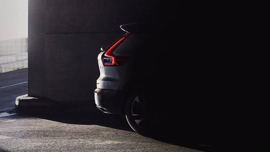Volvo XC40 Teaser Leaks Early, Reveals Rear End
