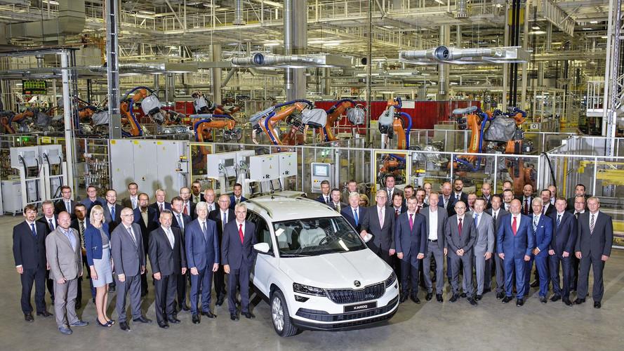 2017 Skoda Karoq üretimi başladı