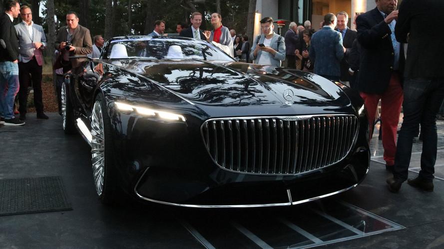 Vision Mercedes-Maybach 6 Cabriolet, una nueva clase de lujo