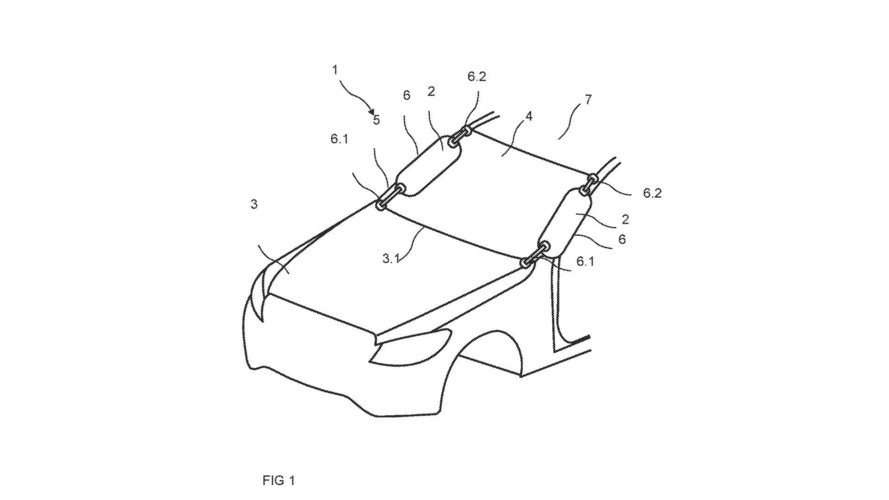 Mercedes Patents External Airbag, You're Welcome Pedestrians