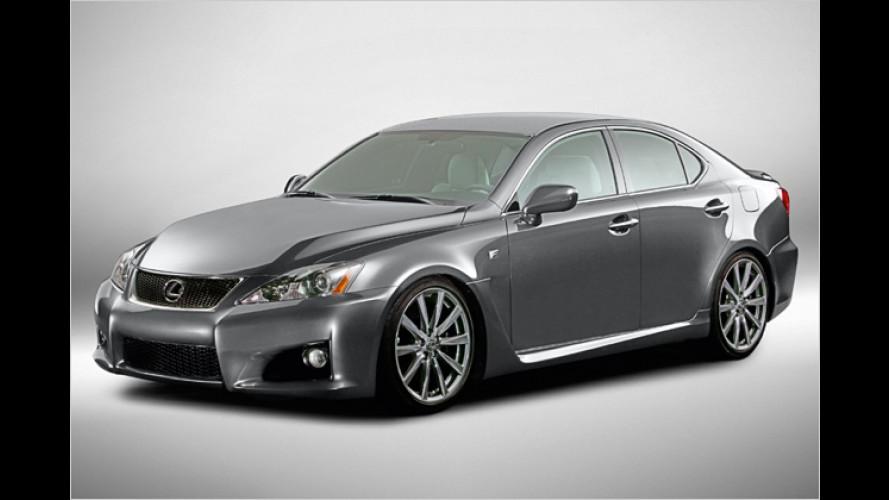 Lexus IS-F: Der PS-Bolide kommt im Frühjahr 2008 zu uns