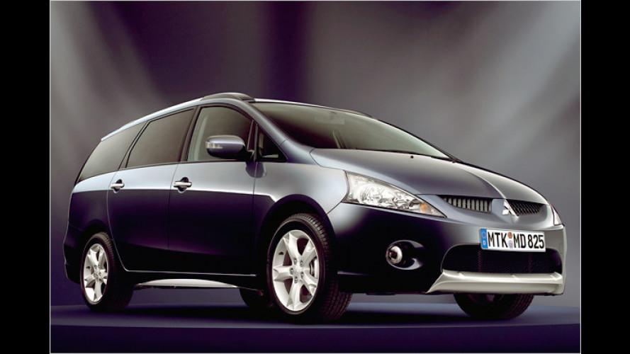 Mitsubishi Grandis: Sonder-Geschenk zum 30. Geburtstag