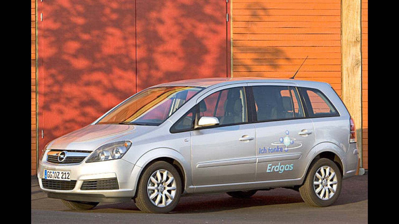 Opel Zafira 1.6 CNG (Erdgas)