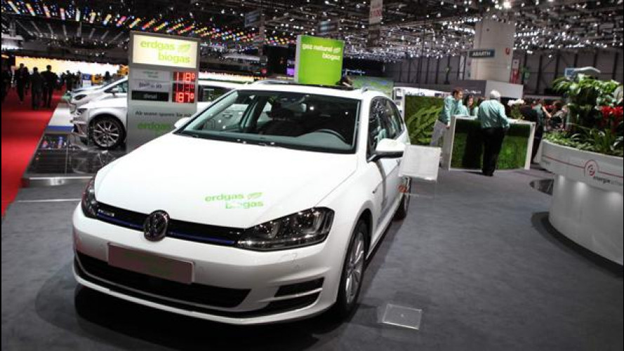 Al Salone di Ginevra sfilano le auto a metano