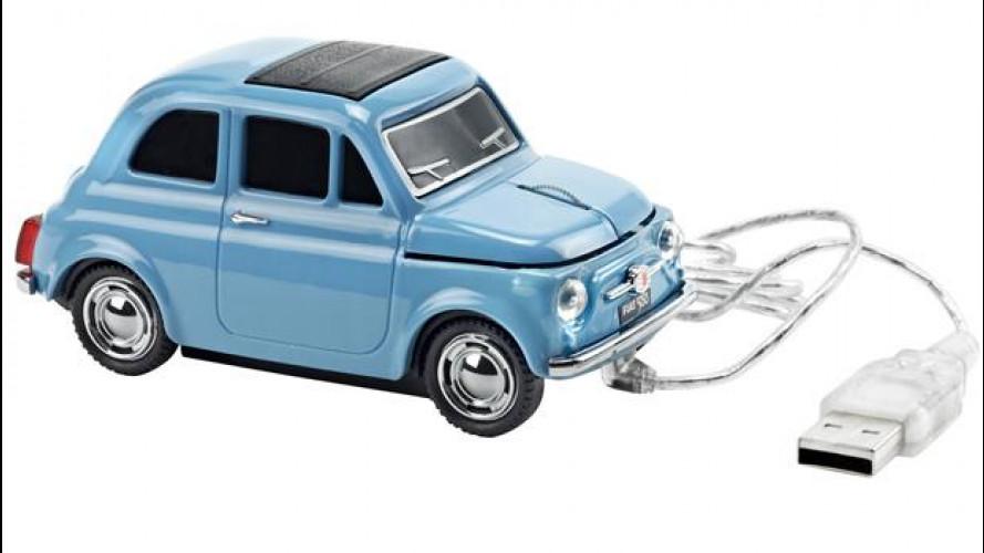 Fiat 500 Vintage '57 si è trasformata in servizi e accessori