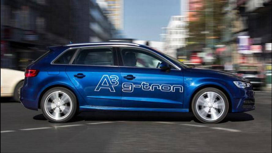 Audi A3 Sportback g-tron, quella a metano