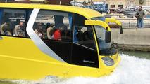 AmphiCoach world's first amphibious passenger coach vehicle