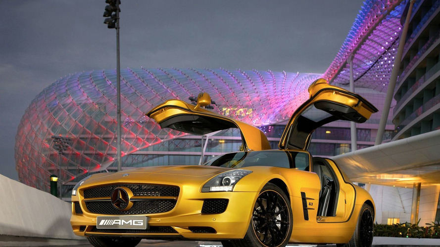 Mercedes SLS AMG Desert Gold and G 55 AMG Edition 79 to Debut at Dubai Motor Show