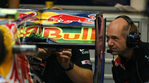 Adrian Newey (GBR), Red Bull Racing, Technical Operations Director looking at the back of the car - Formula 1 World Championship, Rd 15, Singapore Grand Prix, 24.09.2010