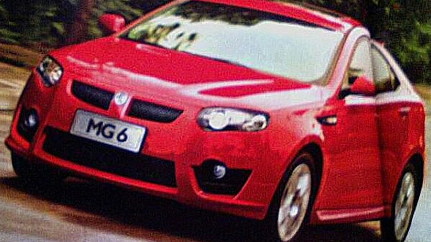 Leaked Scanned Images Confirm MG 550 Hatchback is Coming