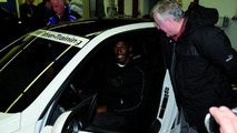 Olympic Champion Usain Bolt with BMW M3