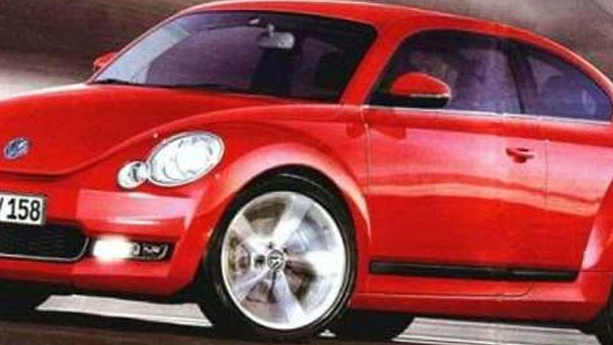 Rendered Speculation: 2012 VW Beetle Second Generation