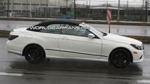 Mercedes E-Class Cabrio Soft Top Spy