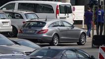 Mercedes CLS Shooting Brake facelift spy photo