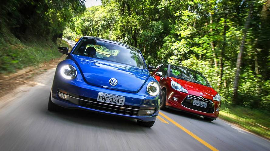 #TBT Motor1.com - VW Fusca x Citroën DS3: nosso primeiro comparativo instrumentado