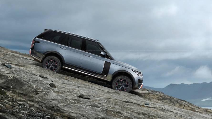 Range Rover SVX versiyonu olsa nasıl görünürdü?