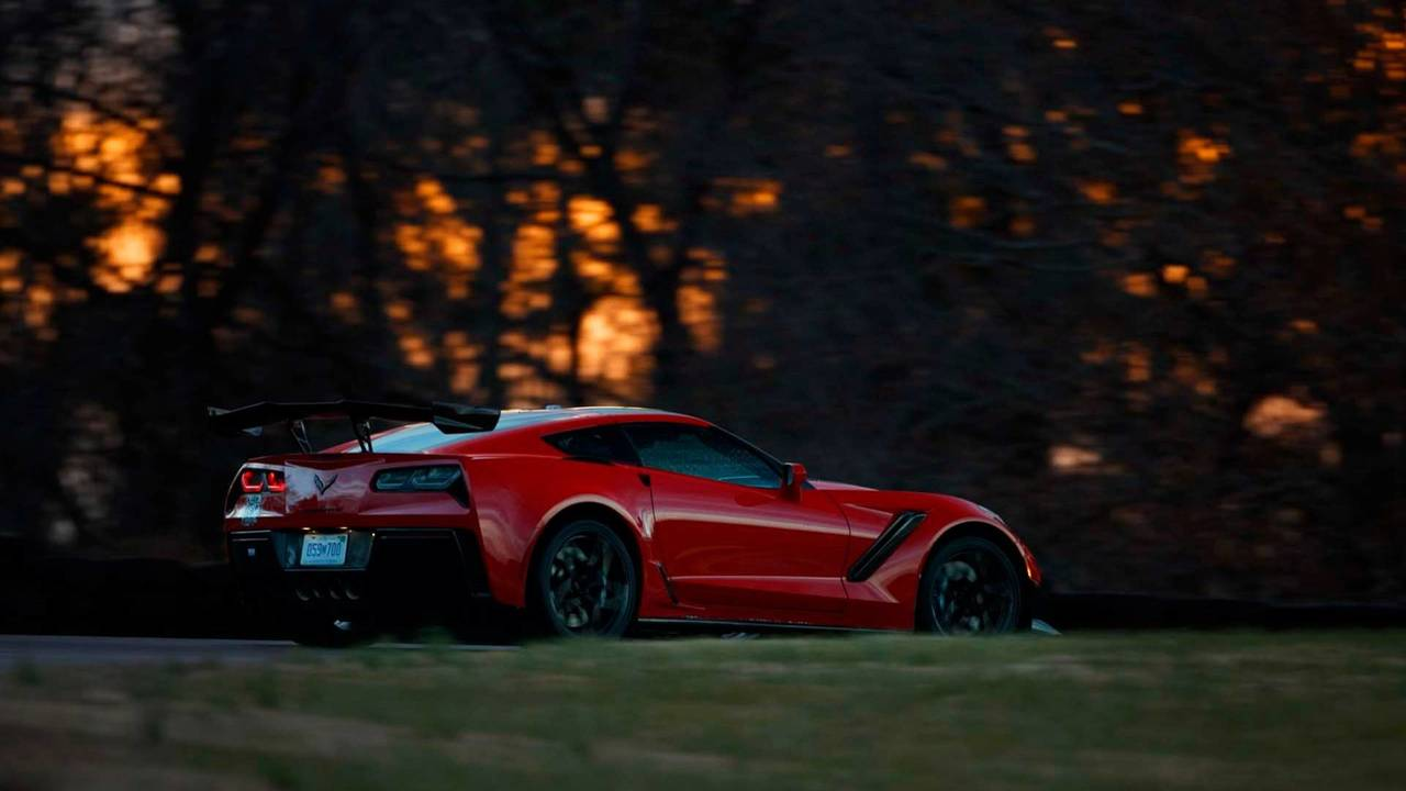 2019 Chevrolet Corvette ZR1 At VIR