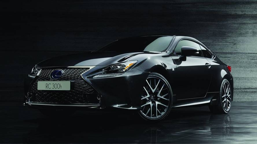 Lexus RC F Sport Black Edition, nera come l'inchiostro giapponese