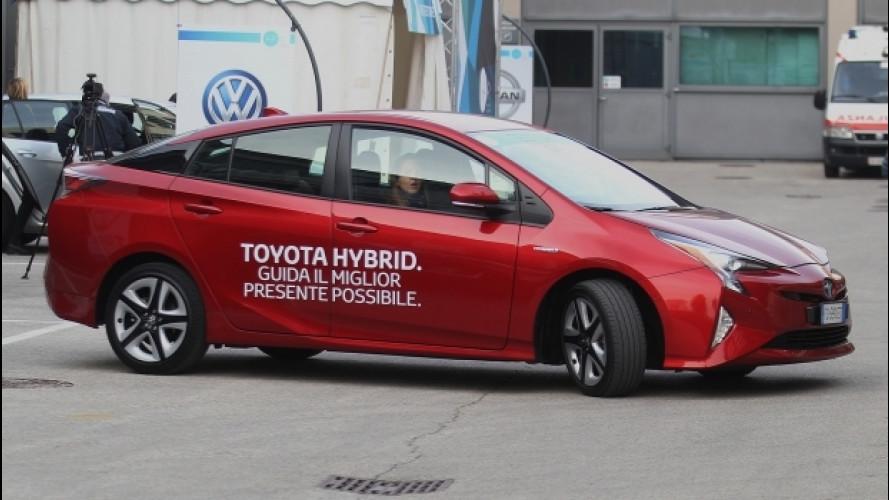 Toyota Prius, il 70% delle percorrenze è a emissioni zero