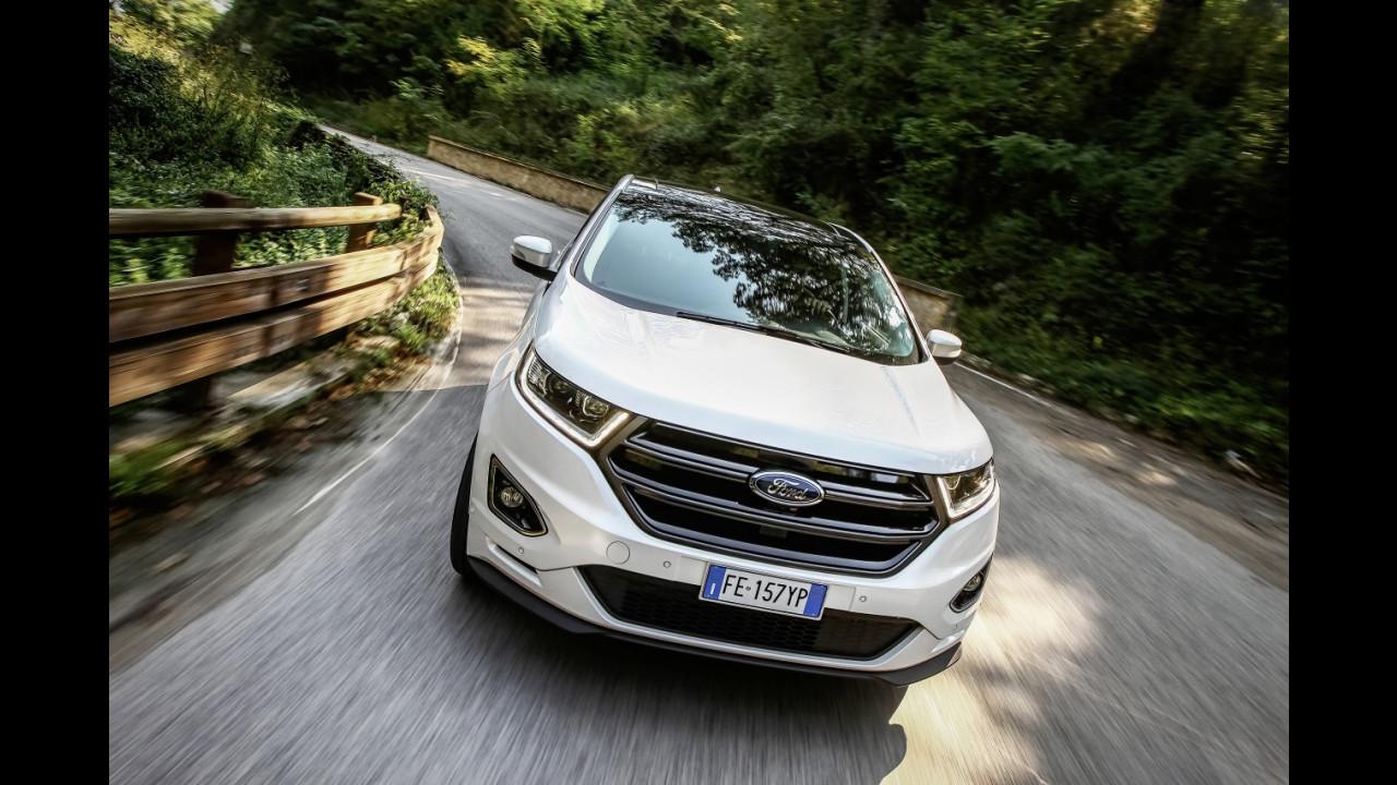Ford Edge, la prova delle doti stradali 004