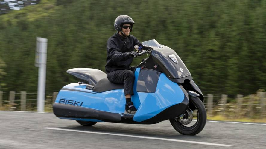Meet Тhe Biski: The Scooter-Jetski Hybrid