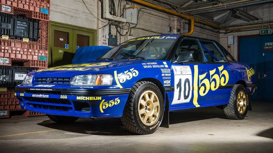 You Can Own This 1993 Subaru Legacy RS Driven By Richard Burns