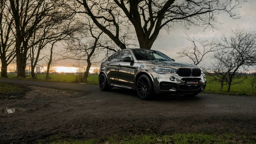 Fostla'nın hazırladığı BMW X6 M50d daha da vahşi