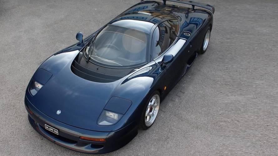 El XJR-15, uno de los Jaguar más exclusivos, está a la venta