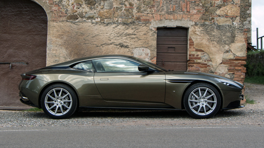 Aston Martin DB11 V8 Debut Is Less Than A Month Away [UPDATE]