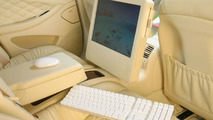 iMac G5 fitted into Mercedes CLS