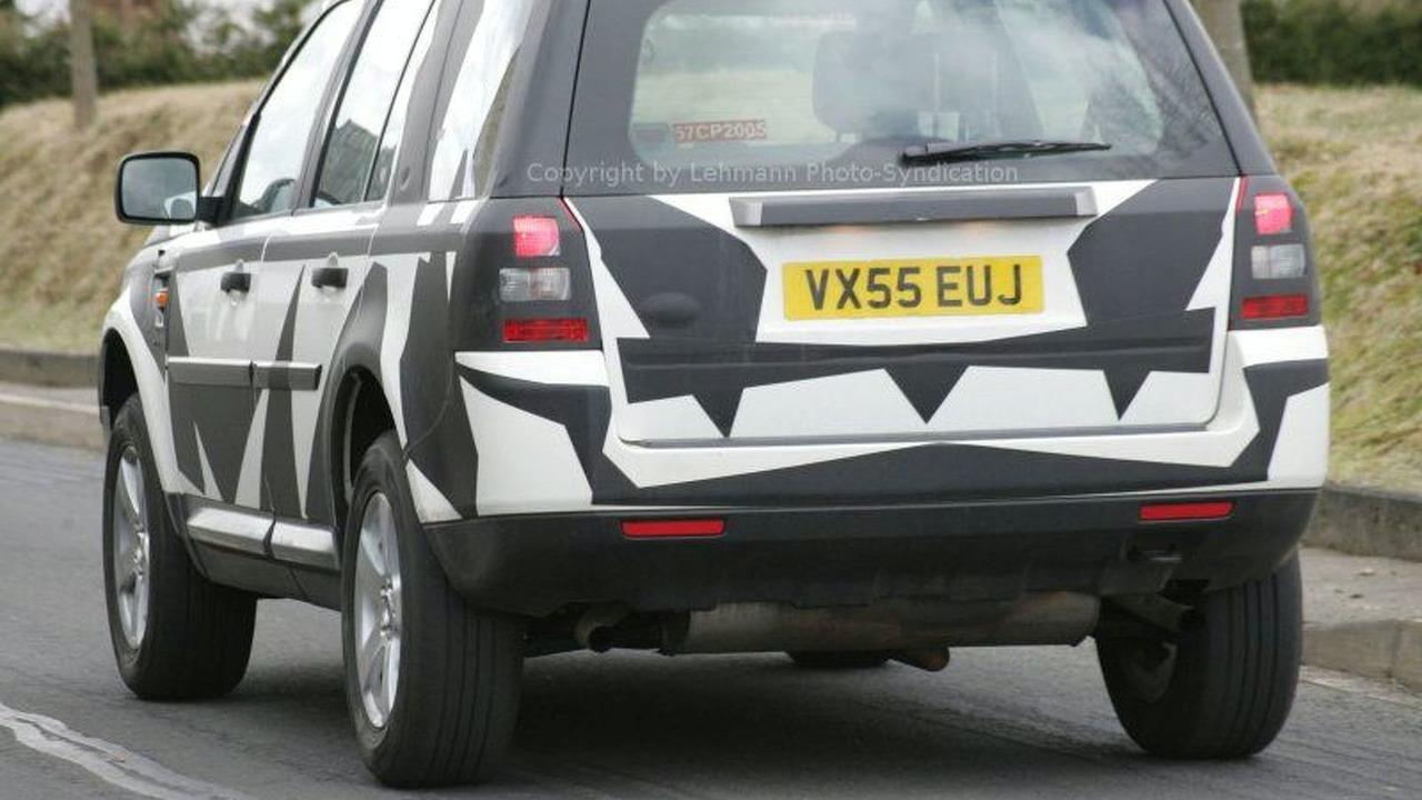 Land Rover Freelander Spy Photos