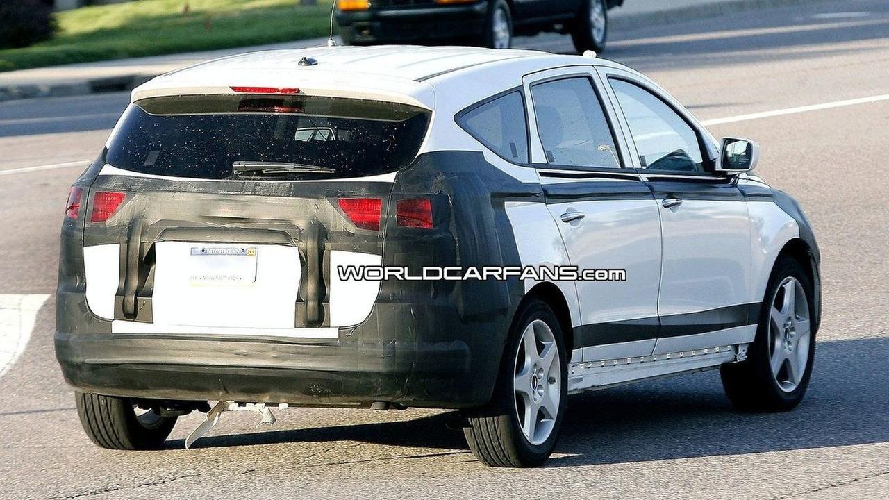 Hyundai Portico spy photos