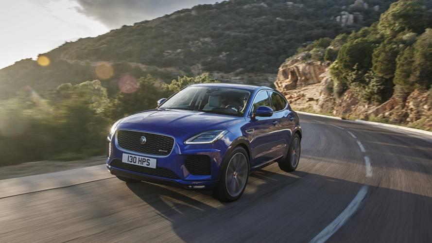 Un nouveau moteur pour le Jaguar E-Pace