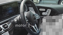 2019 Mercedes GLE Interior Spy Photos