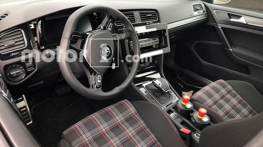 Volkswagen Golf 8 Test Mule